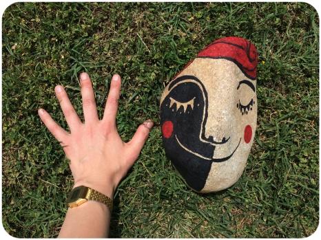 Píndola creativa: #pedra feliç